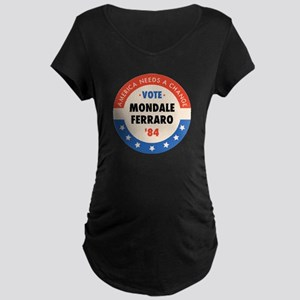 Vote Mondale '84 Maternity Dark T-Shirt