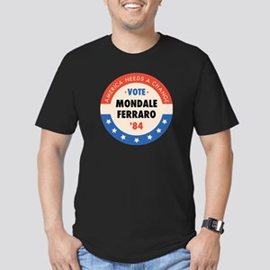 Vote Mondale '84 Men's Fitted T-Shirt (dark)