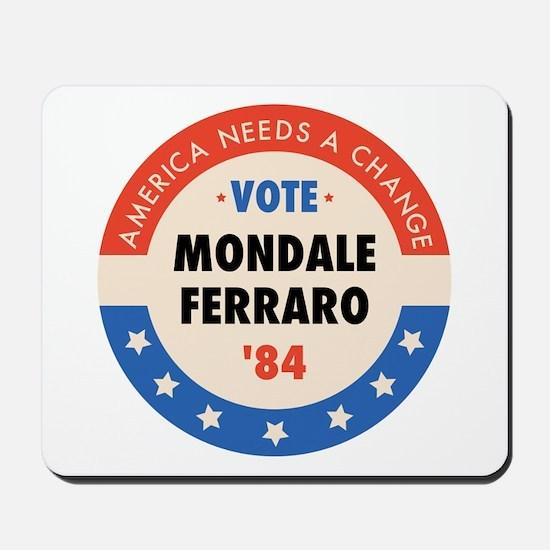 Vote Mondale '84 Mousepad