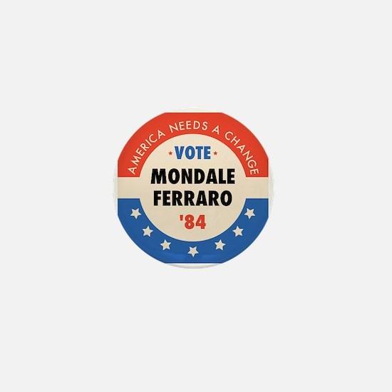 Vote Mondale '84 Mini Button