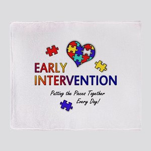 Early Intervention (Autism) Throw Blanket