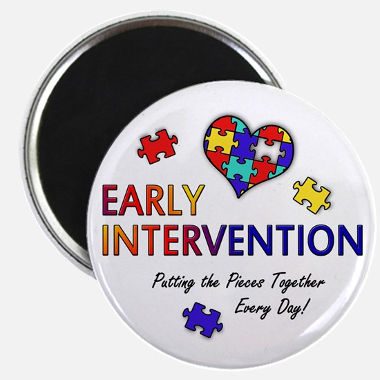 """Early Intervention (Autism) 2.25"""" Magnet"""