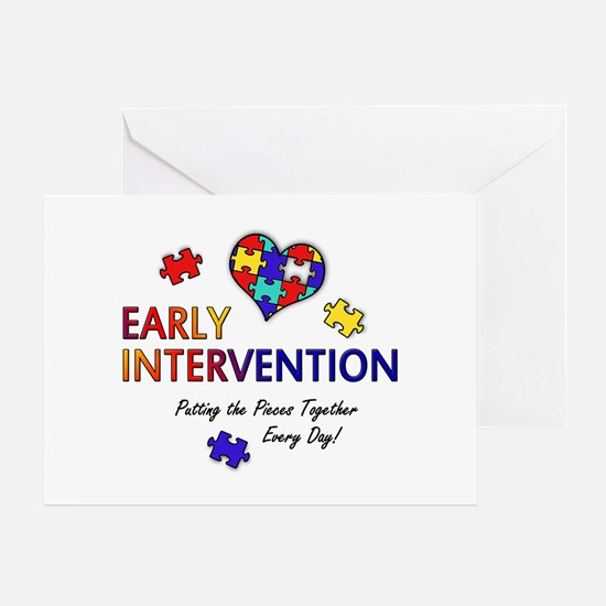Early Intervention (Autism) Greeting Card