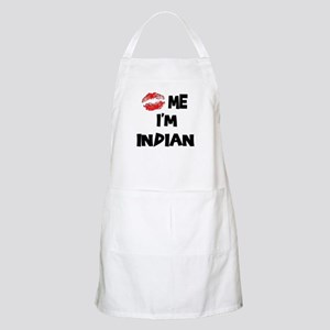 Kiss Me I'm Indian BBQ Apron