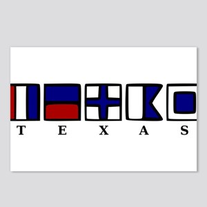 Nautical Texas Postcards (Package of 8)