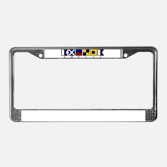 Amelia Island License Plate Frame