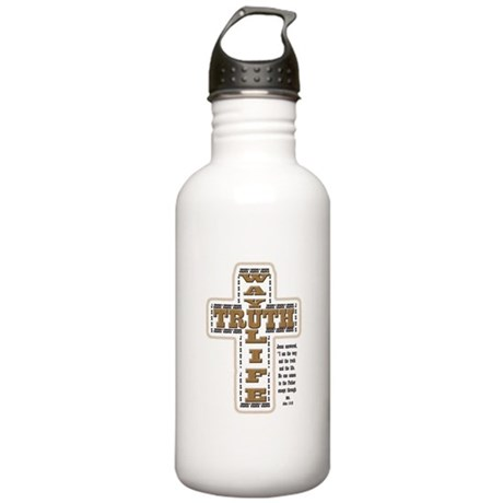 Way, Truth, Life Stainless Water Bottle 1.0L