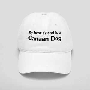 Best friend: Canaan Dog Cap
