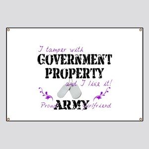 Tamper W Gov Property A Girlfriend Banner
