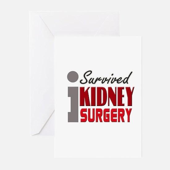 Kidney Surgery Survivor Greeting Cards (Pk of 10)