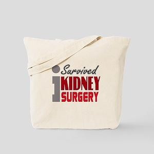 Kidney Surgery Survivor Tote Bag