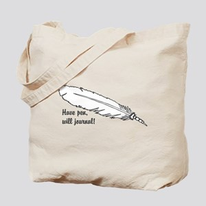 Will Journal Tote Bag