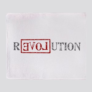 Revolution Throw Blanket