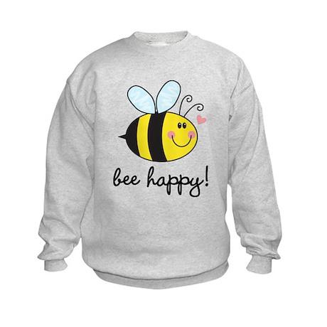 Bee Happy Kids Sweatshirt