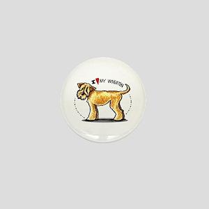 Wheaten Terrier Lover Mini Button