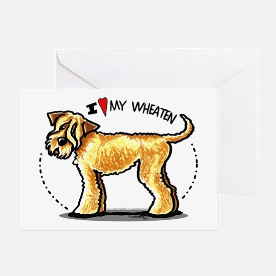 Wheaten Terrier Lover Greeting Card