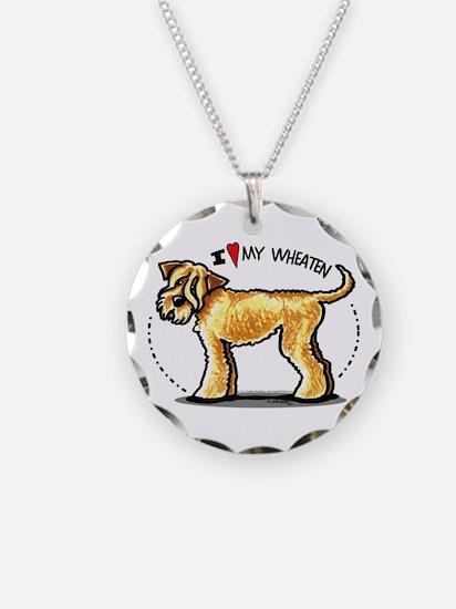 Wheaten Terrier Lover Necklace