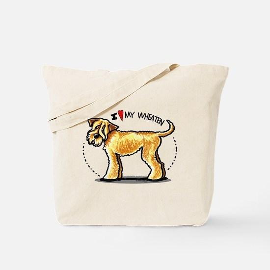 Wheaten Terrier Lover Tote Bag