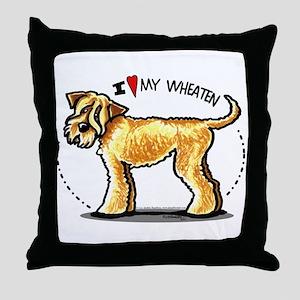 Wheaten Terrier Lover Throw Pillow