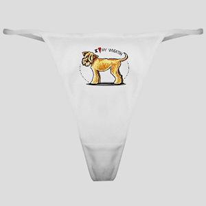 Wheaten Terrier Lover Classic Thong
