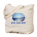 Beach/Ocean Wish I Was There Tote Bag