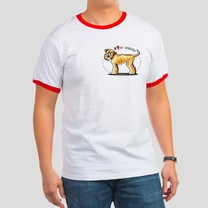 Wheaten Terrier Lover Pocket Ringer T