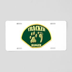 Tracker Ranger Aluminum License Plate
