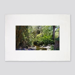 Swamp Jungle 5'x7'Area Rug
