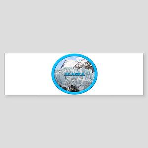 Alaska: Portage Glacier, USA 2 Bumper Sticker