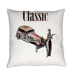 Classic car design and art deco girl Everyday Pill