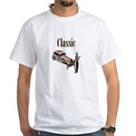 Classic car design and art deco girl T-Shirt