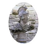 Roman Centurion Oval Ornament