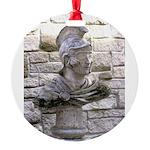 Roman Centurion Round Ornament