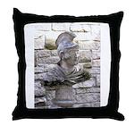 Roman Centurion Throw Pillow