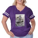 Roman Centurion Women's Plus Size Football T-Shirt