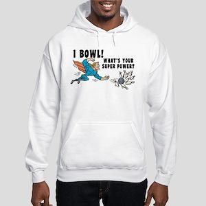Funny I Bowl Hooded Sweatshirt