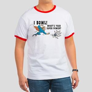 Funny I Bowl Ringer T