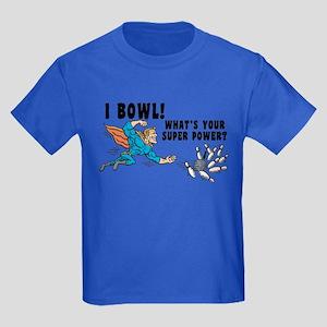 Funny I Bowl Kids Dark T-Shirt