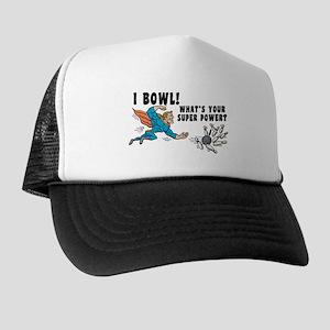 Funny I Bowl Trucker Hat