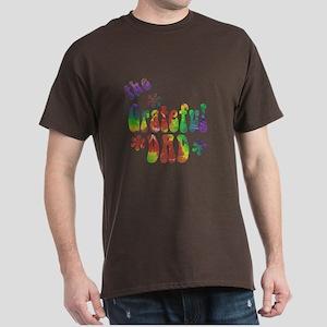 #1 DAD Dark T-Shirt