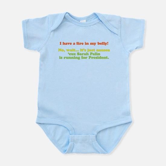 Fire in My Belly Infant Bodysuit