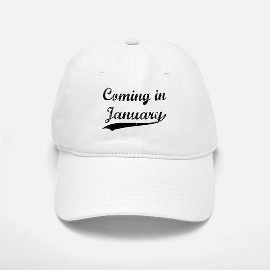 Coming in January Baseball Baseball Cap