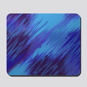 Not your everyday blues Mousepad