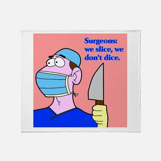 Surgeons Throw Blanket