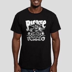 Pirate Rodeo II Men's Fitted T-Shirt (dark)