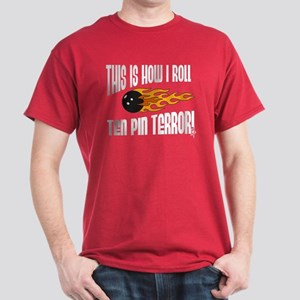 This is How I Roll Bowling Dark T-Shirt