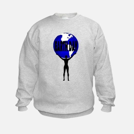 Earth Day Support Sweatshirt