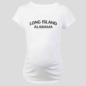 Long Island Alabama Maternity T-Shirt