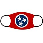 Tennessee Flag Face Mask
