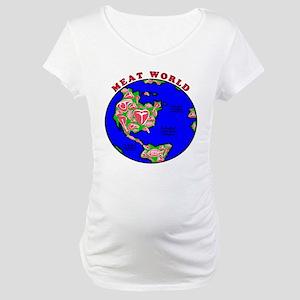 Meat World Maternity T-Shirt